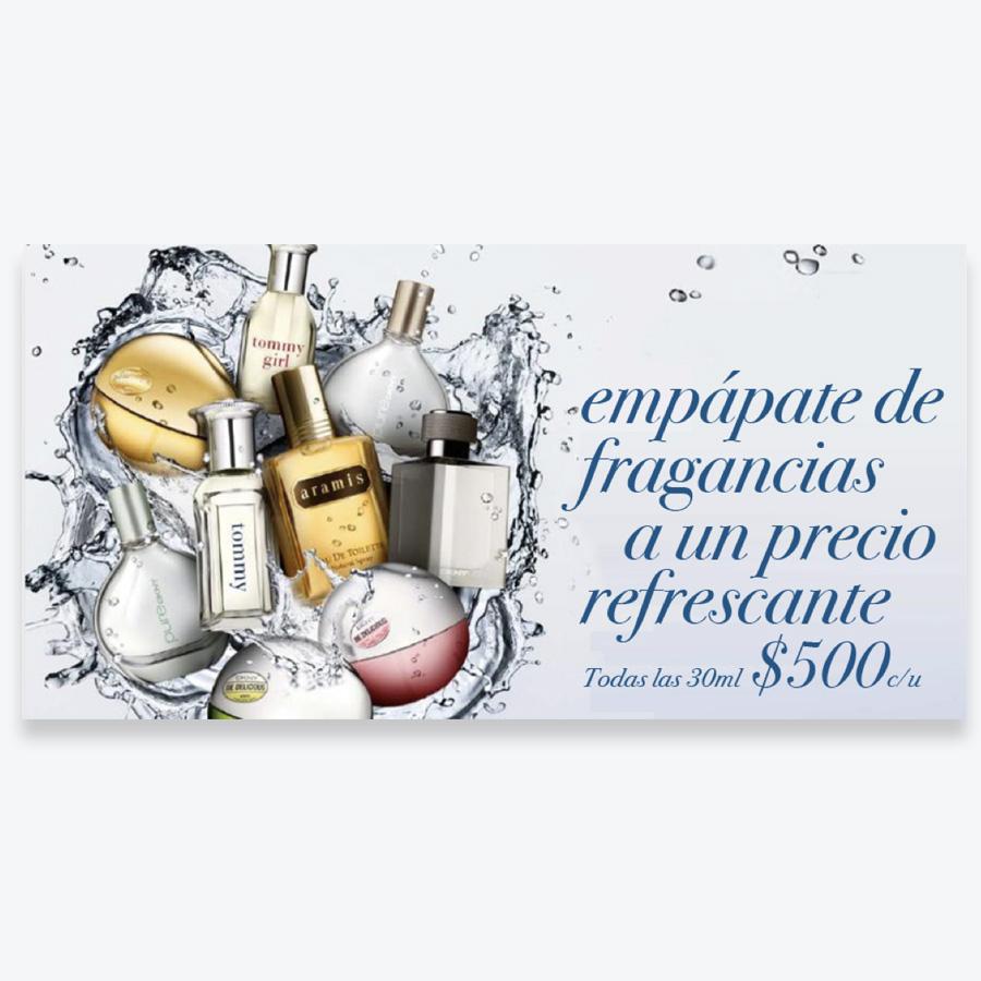 tropicalización perfume