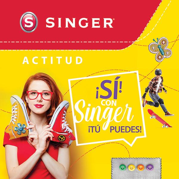 singer codigo de color